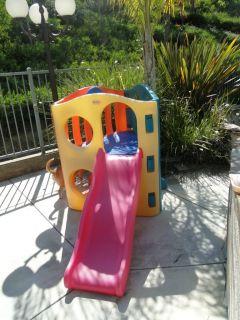 Tikes Wave Climber Slide Kids Toddler Outdoor Jungle Gym Playhouse