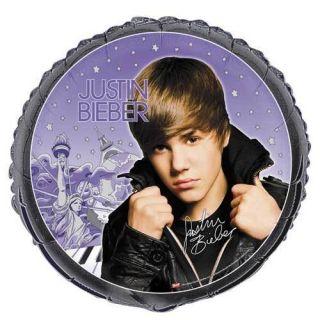 Justin Bieber Mylar Foil Birthday Party Balloon 18