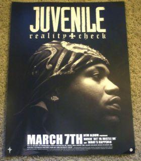 Juvenile Reality Check Original 18x24 inch Promo Poster