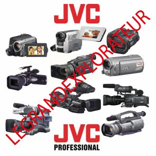 Ultimate JVC Camcorder Repair Service Parts Schematics Manuals PDF on