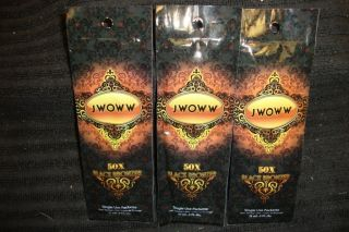 jwoww tanning lotion Packs,50x bronzer, 3 Packs, Three Packs, Low