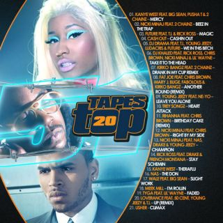 Kanye West Future Nicki Minaj DJ Drama   Tapes Top 20 #51   Hip Hop R