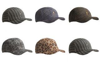 KANGOL Mens Jacquard Spacecap Baseball Cap Hat M XL New $50