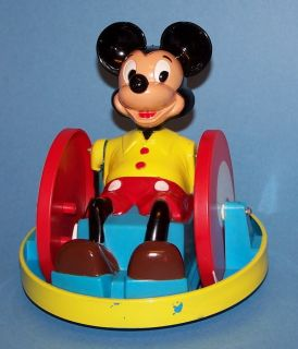 Mickey Mouse Krazy Kar Car Toy Vintage Disney Marx