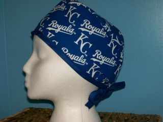 Kansas City Royals MLB Baseball Scrub Hat Cap Medical Surgical Chemo