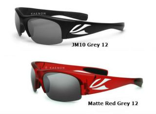 Authentic Kaenon Polarized Sunglasses Hard Kore JM10 Matte Red Grey 12