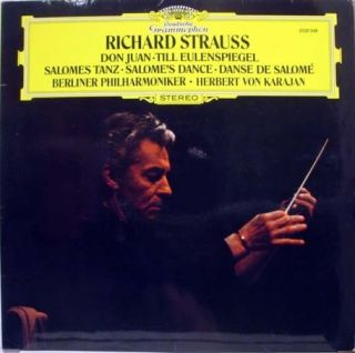Karajan Strauss Don Juan LP 2530 349 VG 1973 Germany
