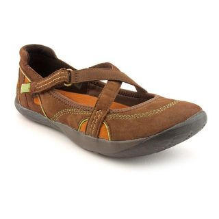 Kalso Earth Penchant Too Womens Size 9 Brown Nubuck Leather Flats