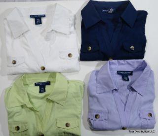 Karen Scott Polo Shirts Assorted Petite Sizes Colors