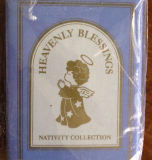 1986 Heavenly Blessings Nativity Magi Kaspar Porcelain Figurine