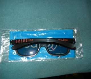 3D Judge Dredd RealD 3D Glasses Movie Promo Karl Urban Olivia Thirlby