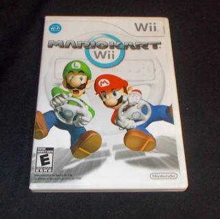 Wii Mario Kart Game