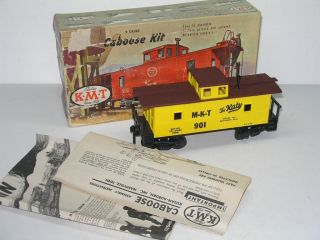 Vintage 1956 KMT O Scale MKT The Katy 901 Caboose Train Kit in Box