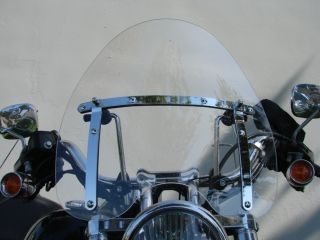 CLEAR WINDSHIELD Windscreen for Kawasaki Vulcan VN 500 750 800 900
