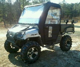 Kawasaki Mule 610 Full Enclosure Cab Zip Doors UTV Cover