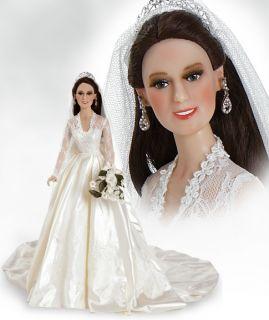 Kate Middleton Princess Catherine Bride Doll 17