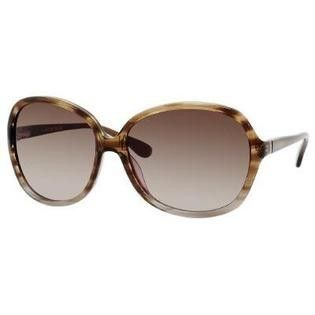Kate Spade Gabi JXQ Brown Grey Plastic Sunglasses