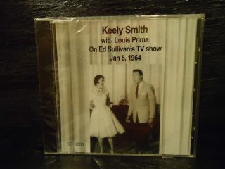 Keely Smith Louis Prima on Ed Sullivans tv show 1964 new cd sealed big