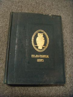 Antique 1902 Book The Electric Telephone Houston Kennelly