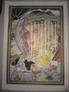 Melanie Taylor Kent Carousel Fantasia Serigraph 93 350