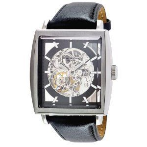 Kenneth Cole Watch Men KC1721 Automatic Black Band
