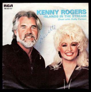 Kenny Rogers Dolly Parton RCA 7 1983 Islands