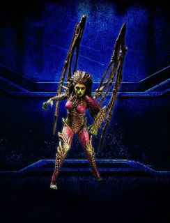 Starcraft Premium Series 2 Action Figure Queen of Blades Kerrigan