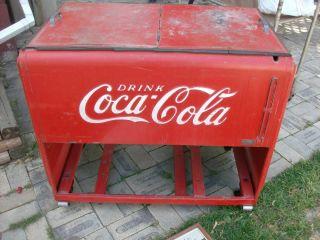 1930s Coca Cola Cooler