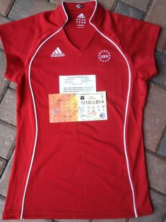 Adidas USA Team Shirt XS 08 Olympic Autographed Nastia Liukin Shawn
