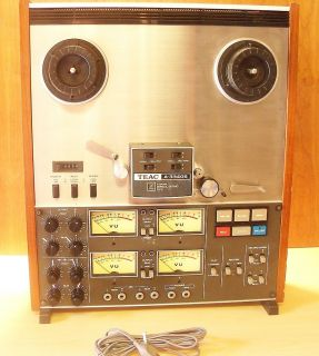Teac 4 Channel Reel to Reel A 3340s Tape Recorder