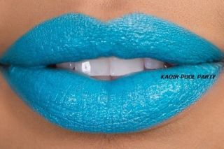 Keyshia KaOIR Kaoir Bright Turquoise Pool Party Lipstick New Blue