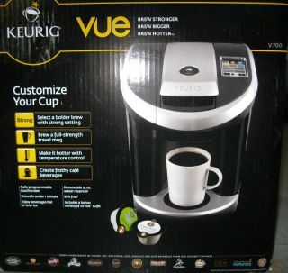 Kig Vue V700 Coffee & Espresso Maker Single Cup Variety Size Tea