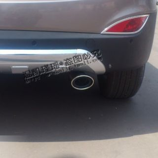 2010 2012 Kia Sportage R Chrome Muffler Exhaust Tail Pipe Tip