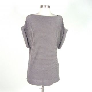 Khloe Kardashian Alexander Wang Gray Sleeveless Sweater Dress Size S