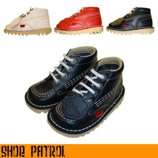 Kickers Kick Hi Infants Junior Boots Inf 5 JNR 2 5
