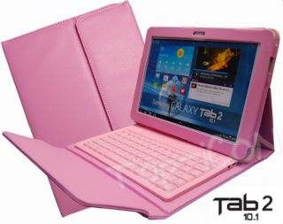 This Samsung Galaxy Tab 2 bluetooth leather case keyboard pack are