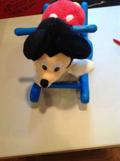 Mickey Mouse Rocker Musical Kiddieland Toys Rocking Horse