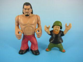 WWE Wrestling Rumblers Figure Great Khali Hornswoggle 2 Pack
