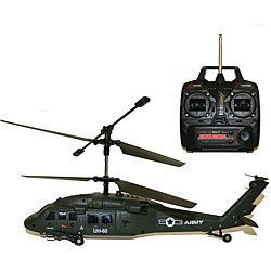 Hawk RC Helicopter Remote Control Kids Adult Outdoor Fun New