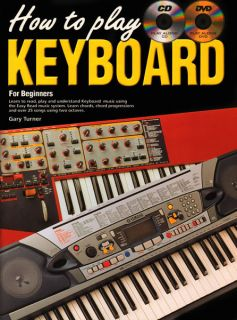 How to Play Keyboard for Beginners Book CD DVD