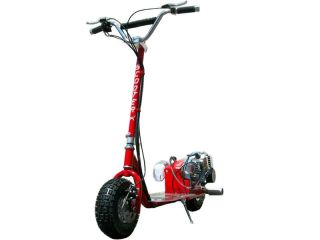 NEW 49CC KIDS CHILDRENS RED GAS POWERED MOTOR SCOOTER BIKE RAZOR