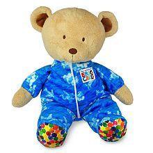 Kids Preferred Eric Carle Pajamas Bear Toy Blue Brown Brand New
