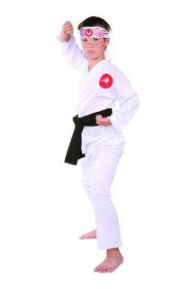 Child Kid Costumes Japanese Ninja Martial Arts Kung Fu Boy Costume