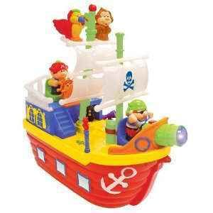 Kiddieland Light N Sound Activity Pirate Boat New