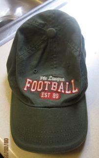 Boy Kids Baseball Cap Football The Childerns Place Green Hat Leauge