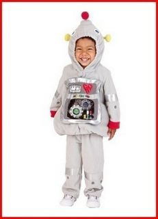 Old Navy 2pc Robot Costume Infant Toddler Boy Girl 12M 24M 2T 3T New w