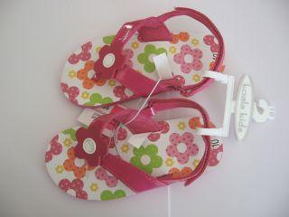NEW Koala Kids Babies R Us Pink Green Orange Yellow White Floral