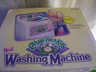 Cabbage Patch Kids WASHING MACHINE MIB CPK 1992 Toy Washer BRAND NEW