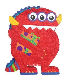 Monster Pinata Kids Themed Birthday Party Supplies Games