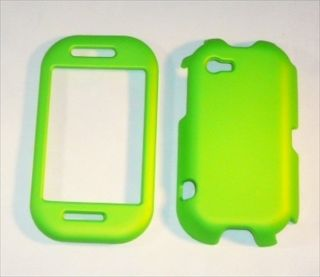 For Sharp Kin 2 Case Cover Lime Green Rubberized LHN06